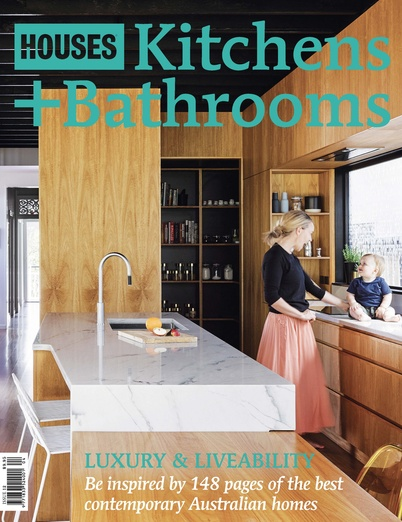 Houses kitchens bathrooms magazine architecture media Queensland kitchen and bathroom design magazine