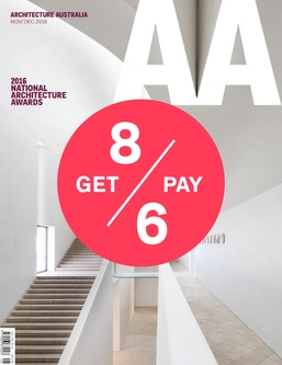 More Architecture Australia - Special offer - subscription
