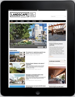 Advertise with LandscapeAustralia.com
